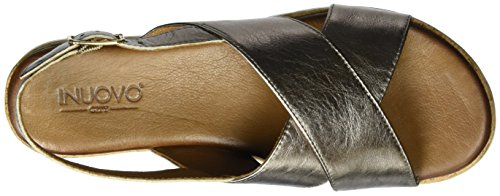 Inuovo 7950 - Tacones Mujer Silber (Pewter)