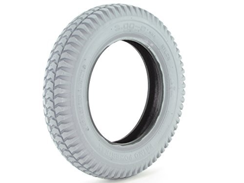 3.00-8 Pneumatic Tire - Knobby Tread - Primo Powertrax