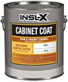 Insl-X Cabinet Coat Acrylic Satin Enamel Interior Satin White 1 Qt
