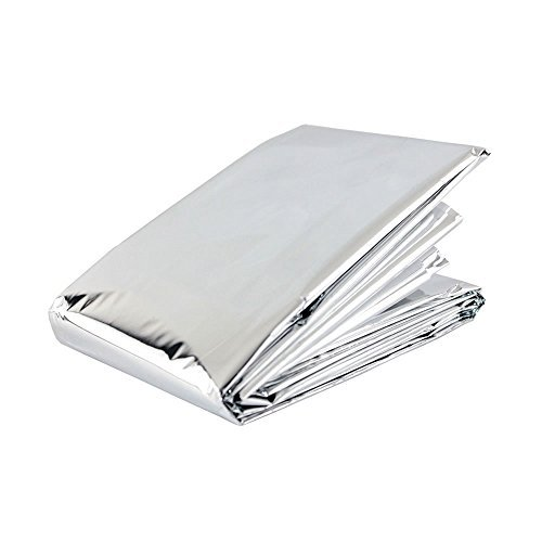 Disposable Blanket - Emergency Mylar Thermal Blankets (Pack of 20)