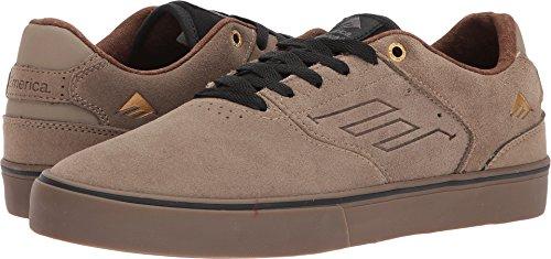 Emerica Men's The Reynolds Low Vulc Skate Shoe, Tan, 9 Medium US (Mens Skateboard Shoes Low)