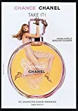 2004 **PRINT AD** With Anne Vyalitsyna For Chanel Chance Fragrance