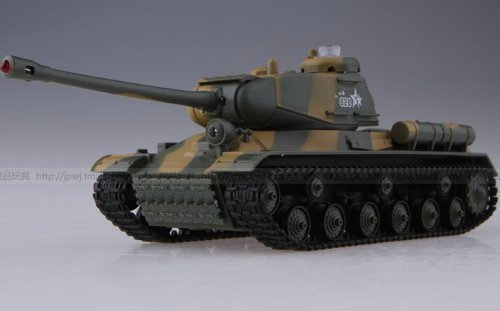 HuanQi Radio Remote Control IR Infrared Battle Tanks with Sound & Light Set of 2