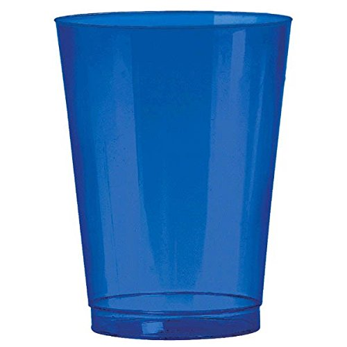 Amscan 350363.105 10 oz - Big Party Pack Plastic Bright Cups, 2