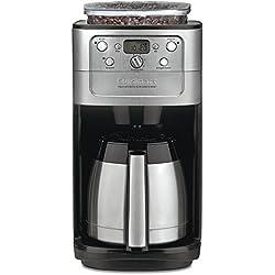 Amazon.com: Cafetera y trituradora automática de 12 ...