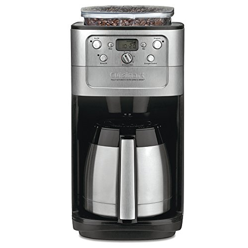 Cuisinart DGB-900BC Grind & Brew Thermal 12-Cup Automatic Coffeemaker (Coffee Maker Thermal Pot)