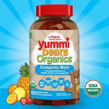 Hero Nutritional Products, Yummi Bears, Complete Multi, 3 Packs (180 Yummi Bears)