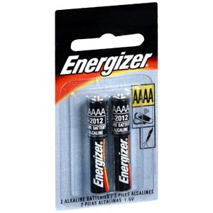 SPECIAL Pack of 5 -ENERGIZER BATTERY AAAA 2EA AUDIOVOX by Medical