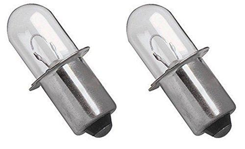 2 Ryobi 18 VOLT Flashlight Replacement Xenon Bulb 18V P700 P703 FL1800 2 Pack