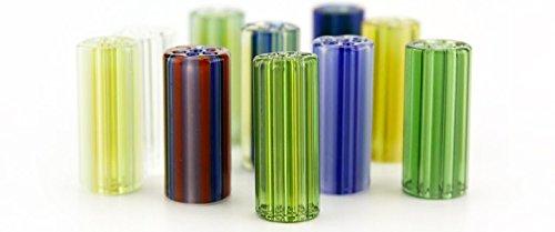 Glass filter tip Honeycomb Crutch (Honeycomb Glass Hookah)