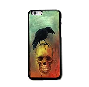 Retro Crow Skull Cool Design Case Cover For iPhone 5 5S Personality Design