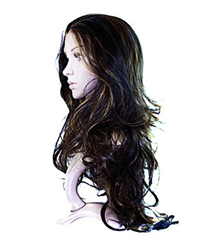 ANDI ROSE Fashion Women Ladies Girls Long Wavy Curly Synthetic Hair Pieces Cosplay Full Hair Extensions Wig (Mix-I)
