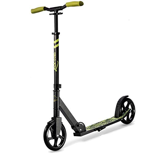 """Lascoota Scooters for Kids 8 Years and up - Featuring Quick-Release Folding System - Dual Suspension System + Scooter Shoulder Strap 7.9"""" Big Wheels Great Scooters for Adults and Teens"""