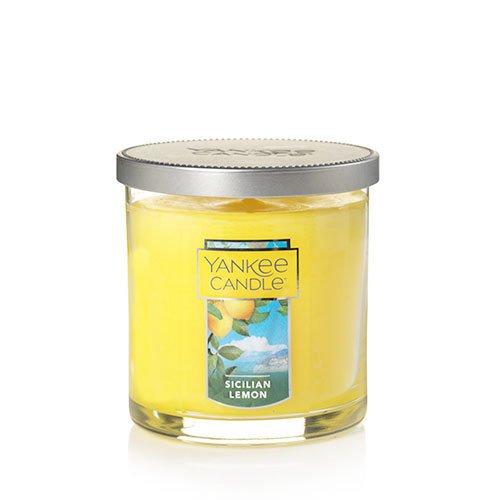 - Yankee Candle Sicilian Lemon Small Tumbler Candle, Fruit Scent