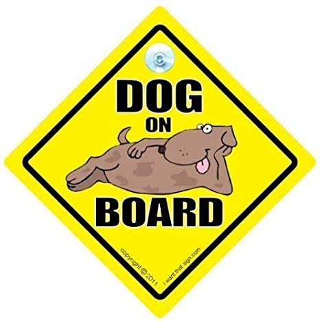 Pampered Pooch On Board Car Sign Gift for Dog//Puppy