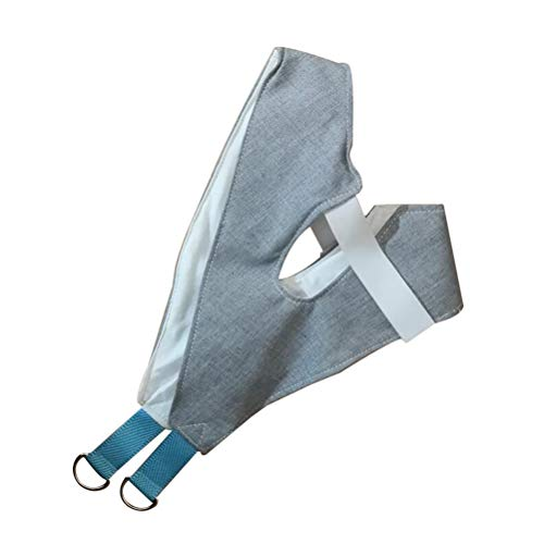 HEALIFTY Neck Massager Stretcher Bands Adjustable Chiropractic Back Head Recovery Tool (Ramdom Color)
