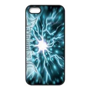 iPhone 5,5S Phone Case Black DragonForce WQ5RT7399582