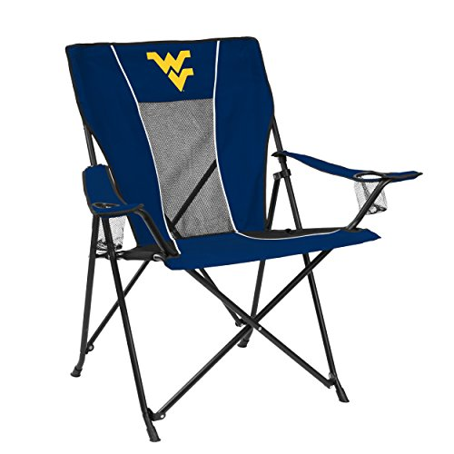Logo Brands NCAA West Virginia Game Time (West Virginia Adult Chair)