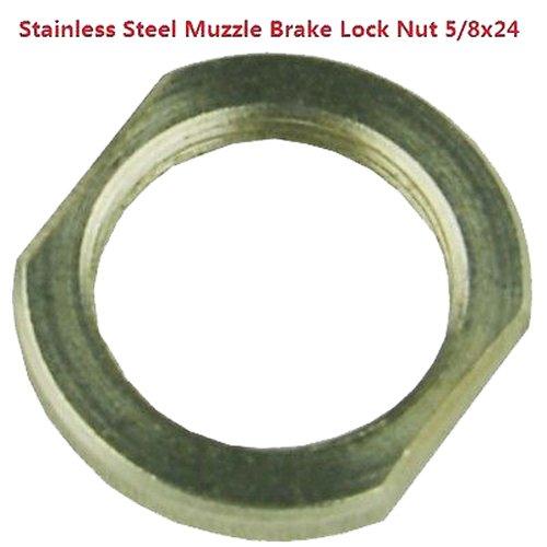 FieldSport 308 Stainless Steel Muzzle Brake Lock Nut 5/8x24 - Import It All