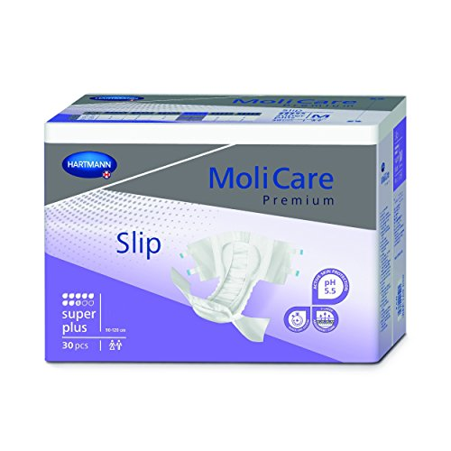 - Molicare Super-Plus Briefs with Curly Fiber, Small, 30 Pack