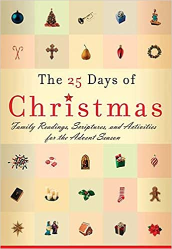 Christmas Scriptures.The 25 Days Of Christmas Family Readings Scriptures And