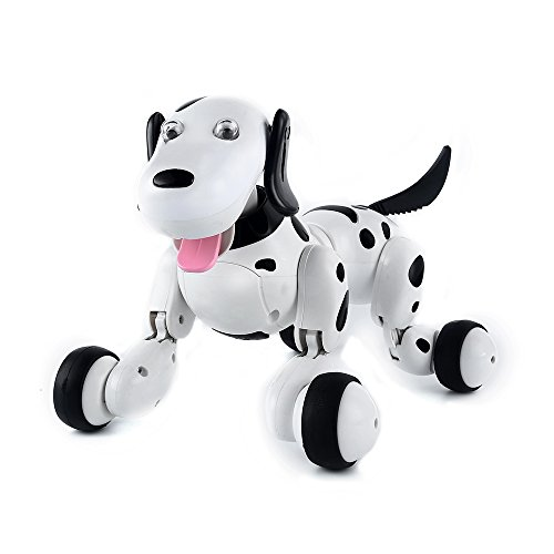 SainSmart Jr. Robot Dog Smart Dog Electronic Pets Kid's Toy, Children Days Gift Remote Control Dog Toy Interactive Puppy with Immersive Sound and Humanistic (Walk Like A Robot)