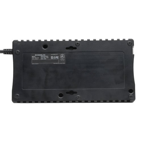 Tripp Lite 650VA UPS Battery Backup, LCD, 325W Eco Green, USB, RJ11, 8 Outlets (ECO650LCD) by Tripp Lite (Image #9)