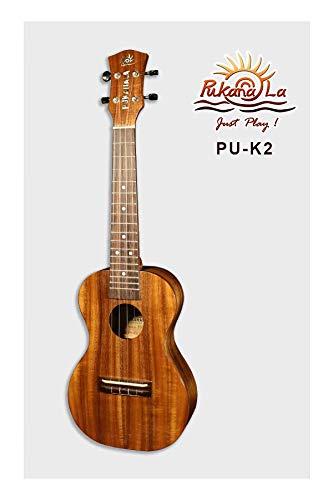 PukanaLa Model PU-K1L All Solid Acacia Koa K Series Long Scale Soprano Ukulele