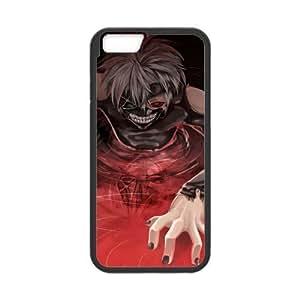 MeowStore Japanese Cartoon Tokyo Ghoul Red Eye Kaneki Ken Mask Teeth Phone Case For Iphone 6 (4.7 inch)