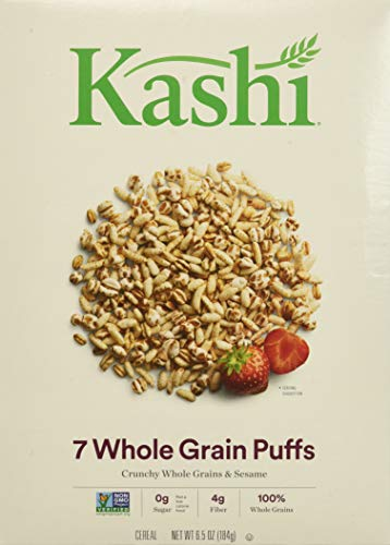 Kashi 7 Whole Grain Puffs Cereal, 6.5-Ounce Boxes (Pack of 6) ()