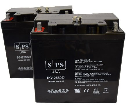 12v-55ah-sigma-batteries-12-volt-55-amp-group-22nf-wheelchair-replacement-battery-sps-brand-pack-of-