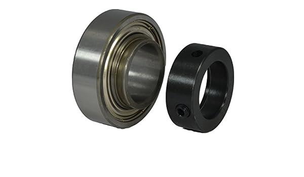 "SA206-20 1-1//4/"" Bore Spherical Insert Bearing Locking Collar 1-1//4/""x62mm"