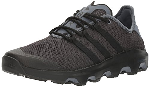 adidas Outdoor Men's Terrex Climacool Voyager Water Shoe, Black/Black/Onix, 13 M US