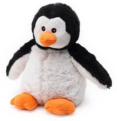 Warmies Cozy Plush Heatable Lavender Scented Stuffed Animal (Penguin)