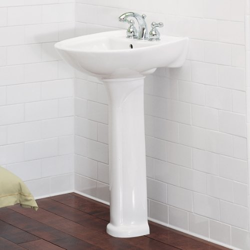 Amazon.com: American Standard 731100 400.020 Pedestal Sink Leg For 0115,  0113 And 0236 Basins, White: Home Improvement