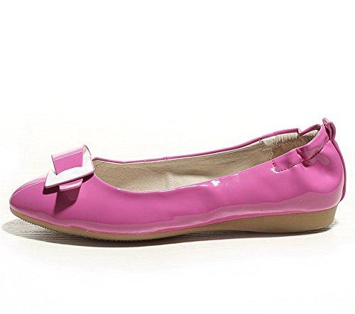Balamasa Girls Pumps-shoes In Pelle Verniciata A Punta Appuntita Rosato