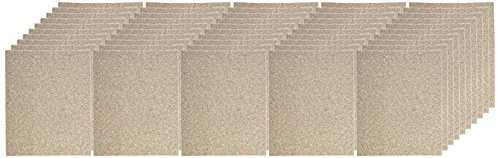 Gator Finishing 4212 50 Grit Aluminum Oxide Sanding Sheets (25 pack), 9'' x 11'' by Ali Industries (Image #1)