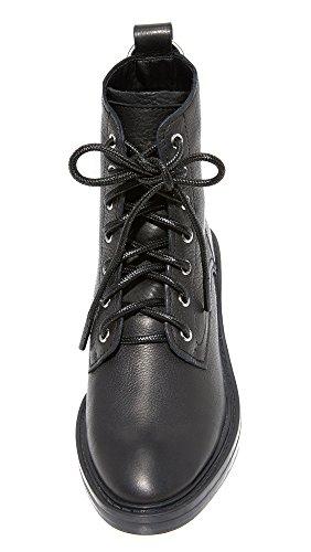 Black Vita Combat Women's Bardot Leather Boot Dolce ACqRwSPA