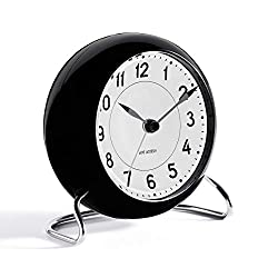 Arne Jacobsen Table Clock Station with Alarm