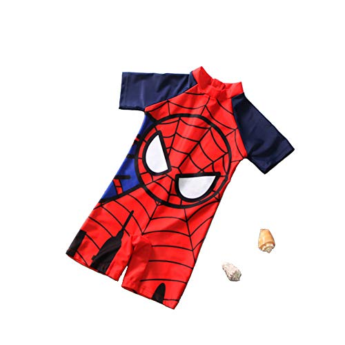 Spiderman Swimsuit,One Piece Spider-Man Swimsuit for Boys (Spiderman Swimsuit)
