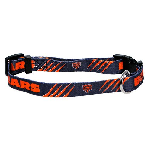 (Hunter Mfg. LLP NFL Chicago Bears Adjustable Pet Collar, Team Color, X-Small)