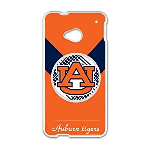 Happy Auburn Tigers Cell Phone Case for HTC One M7