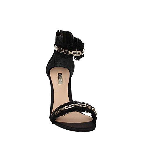 Guess - Sandalias de vestir para mujer negro negro negro