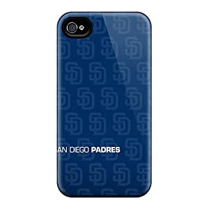 Iphone 4/4s PfO12415PRhO Unique Design High Resolution San Diego Padres Pictures Bumper Cell-phone Hard Cover -JohnPrimeauMaurice