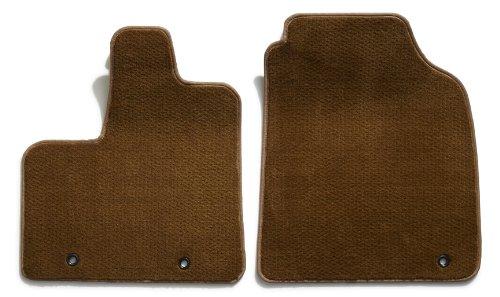 Premier Custom Fit 2-piece Front Carpet Floor Mats for Chrysler Crossfire (Premium Nylon, Caramel)
