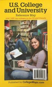 U.S. College and University Reference Map 6th edition
