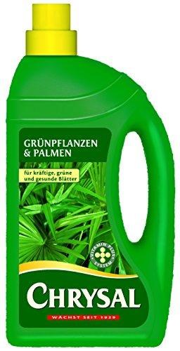 Chrysal Flüssigdünger Grünpflanzen und Palmen 1000 ml