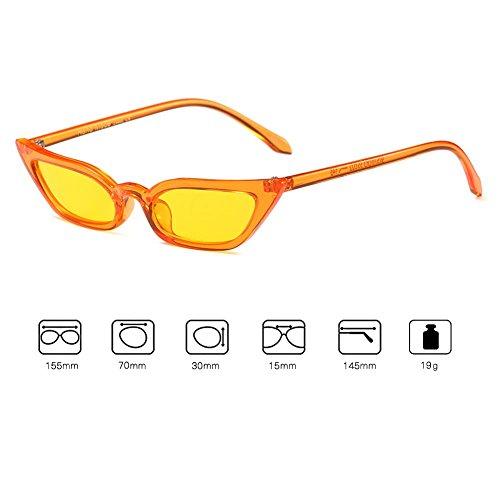 lunettes soleil de mode élégant femmes lunettes chat lunettes plat hibote C1 yeux papillon AFw8xT8Eq