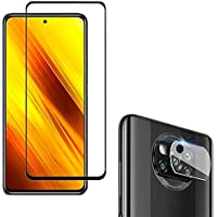 Película 5D Cerâmica Xiaomi Poco X3 X3 NFC Poco X3 Pro + Película Câmera Vidro [Coronitas Acessorios]