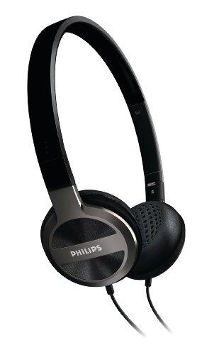 Philips SHL9300/10  On-Ear Headband Foldable Lightweight Headphones (Black)